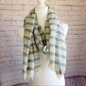 [Banana Republic] lightweight pastel stripe scarf